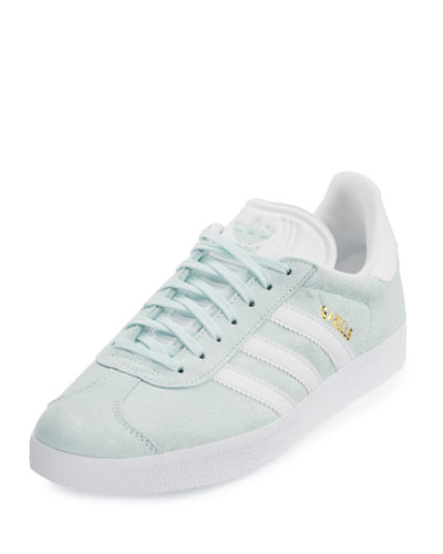 Gazelle Original Suede Sneaker, Light Green
