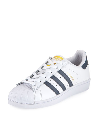 Superstar Classic Sneaker, Running White/Onyx