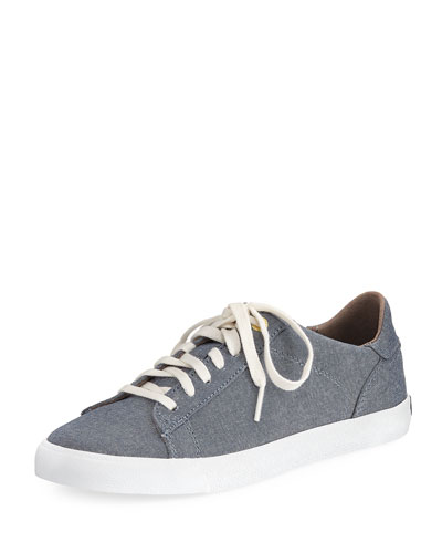 Trafton Club Court Denim Sneaker, Blue