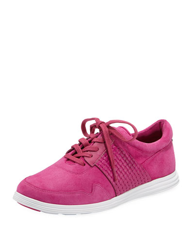Misha Grand Sport Oxford Sneaker, Pink