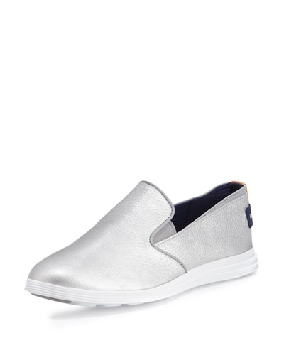 Ella Grand 2 Slip-On Sneaker, Metallic