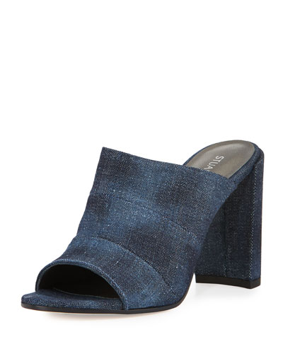 Sequel Denim Mule Sandal