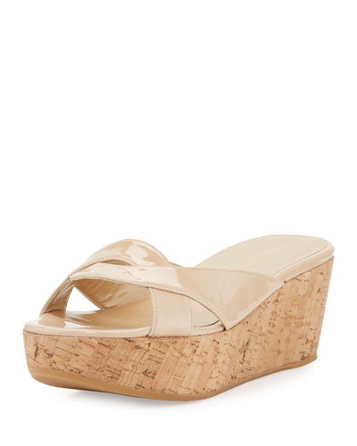 UnderIt Patent Wedge Sandal, Bambina