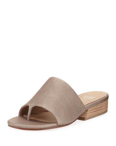 Beal Wide-Band Slide Sandal, Pyrite