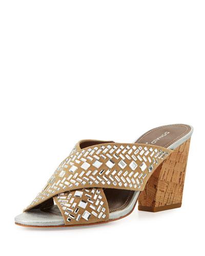 Gilian Crisscross Ornament Sandal