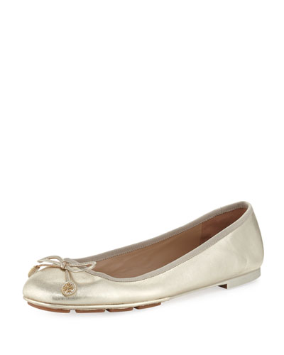 Laila Ballet Driver Flat, Gold