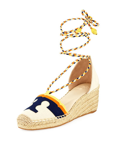 Laguna Leather Wedge Espadrille