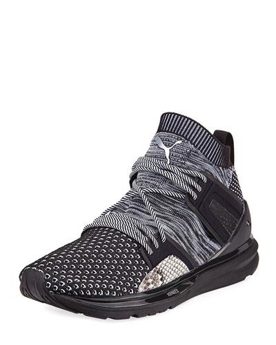 B.O.G. Limitless Hi Animal Sneaker, Black