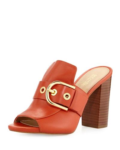 Cooper Buckle Mule Sandal
