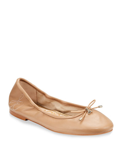 Felicia Embroidered Ballet Flat