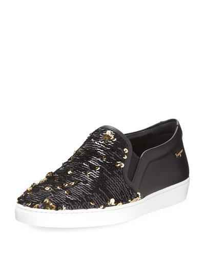 Sparkle Platform Sneaker
