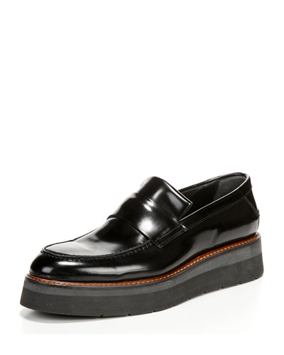 Dorsey Creeper Loafer, Black