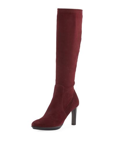Rumbah Weatherproof Suede Knee Boot
