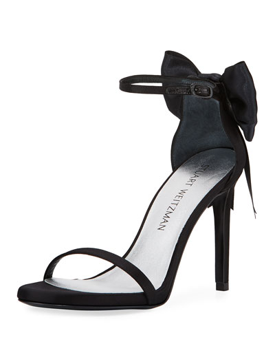 MyBow Satin Bow Sandal