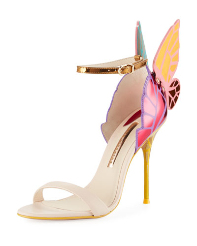 Chiara Butterfly Wing Multicolor Sandal