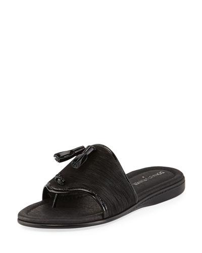 Bia Tassel Flat Sandal