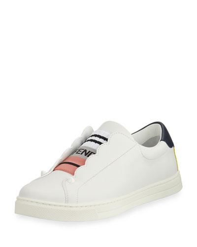 Scalloped Skate Sneaker