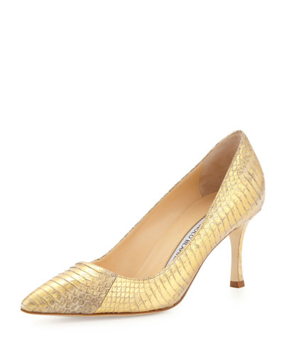 BB Snakeskin 70mm Pump