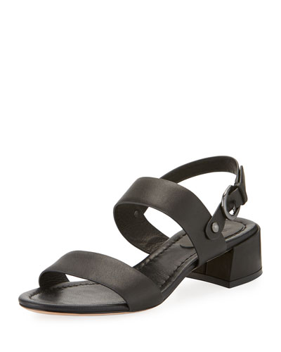 Rach Vachetta City Sandal, Black