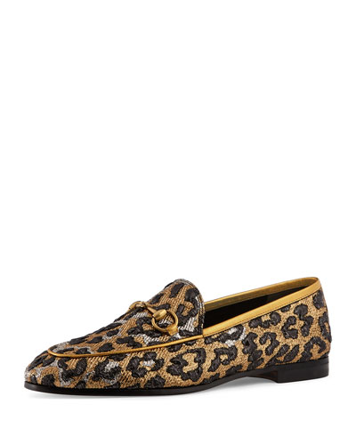 New Jordaan Leopard-Print Loafer