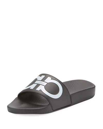 Pool Slide Sandal, Black