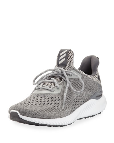 Alphabounce EM Knit Running Sneaker, Gray