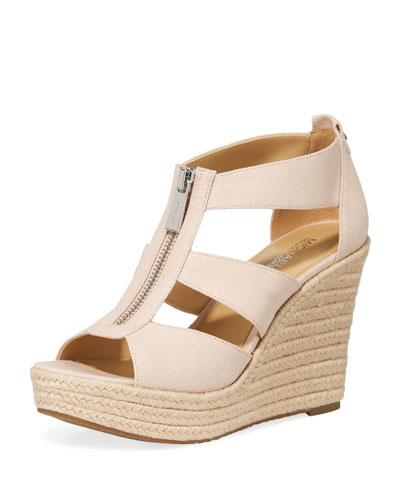 Damita Canvas Wedge Sandal
