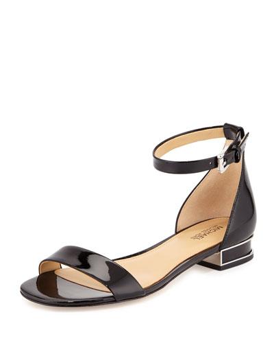 Joy Patent Flat Sandal