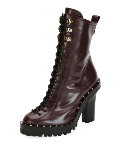 Soul Rockstud Lace-Up Bootie
