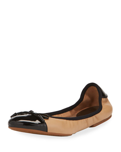 MK City Two-Tone Ballerina Flat,