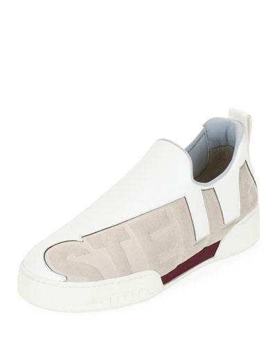 Stella Printed Slip-On Sneaker, Gris Stone