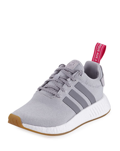 NMD R2 Knit Molded Sneaker, Gray
