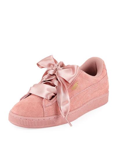 Heart Suede Satin II Sneaker