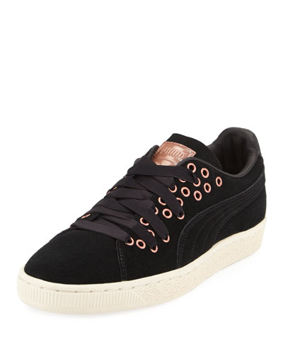 Suede XL Lace-Up Sneaker