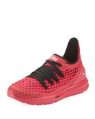 Ignite Limitless Netfit Mesh Sneaker, Hot Pink