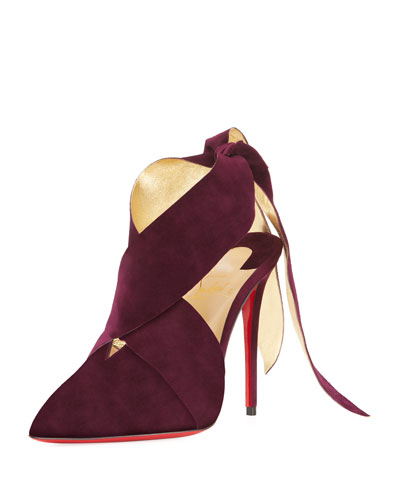 Ramour Suede Red Sole Pump