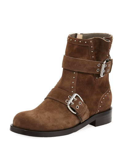 Blyss Studded Suede Boot