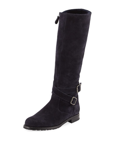 Knee High Leather Boot | Neiman Marcus