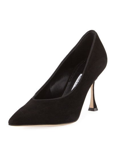 Curgenzapla Suede High-Vamp 90mm Pump