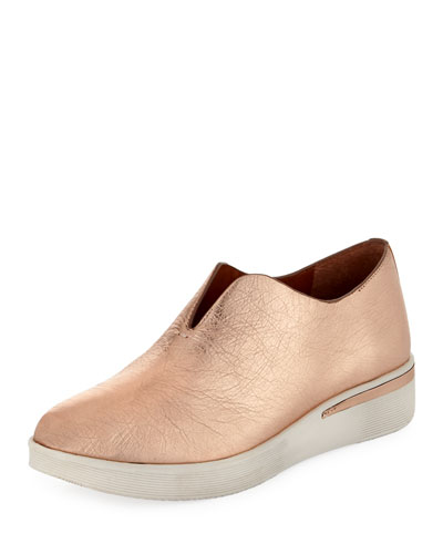 Hanna Slip-On Metallic Sneaker