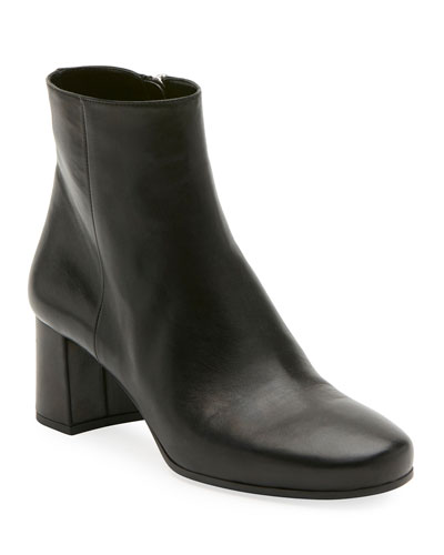 Napa 55mm Block-Heel Boot, Black