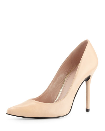 Nouveau Leather Pump