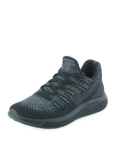 LunarEpic Low Flyknit 2 Sneaker, Black