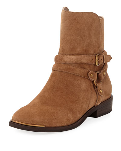KELBY FLAT BELTED BOOTIE