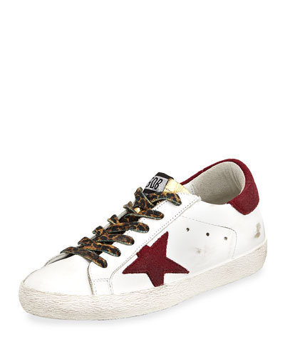 Superstar Mixed Lace-Up Sneaker