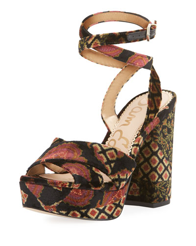 Mara Crisscross Platform Sandal