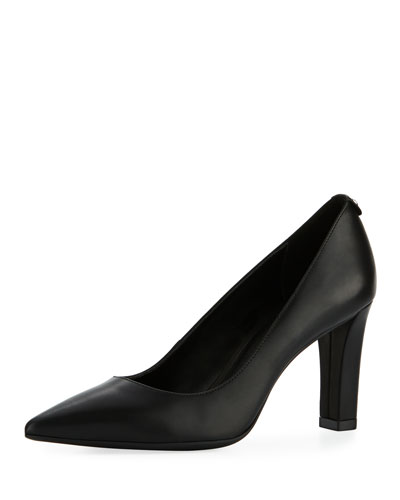 Abbi Smooth Leather Flex Pump