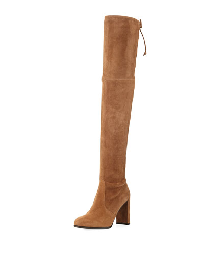 High-Line Over-The-Knee Boot