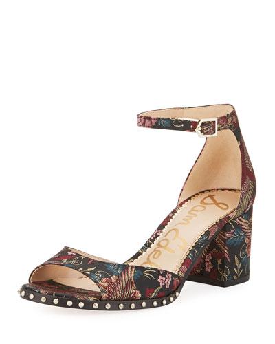 Susie Majestic Bird Jacquard Sandal