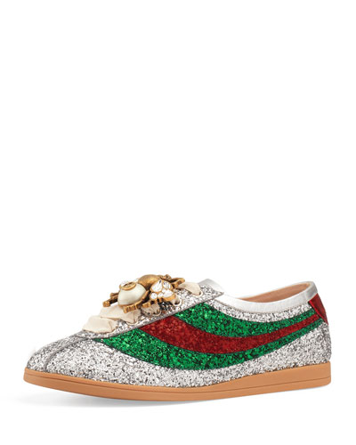 Falacer Glittered Low-Top Sneaker